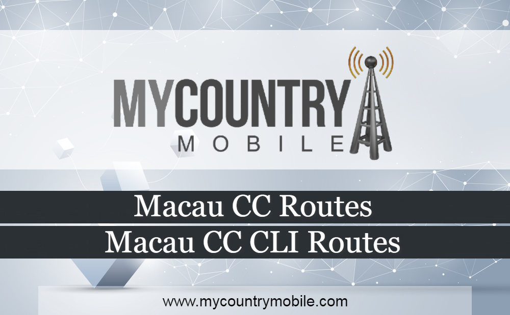Macau CC Routes - My Country Mobile