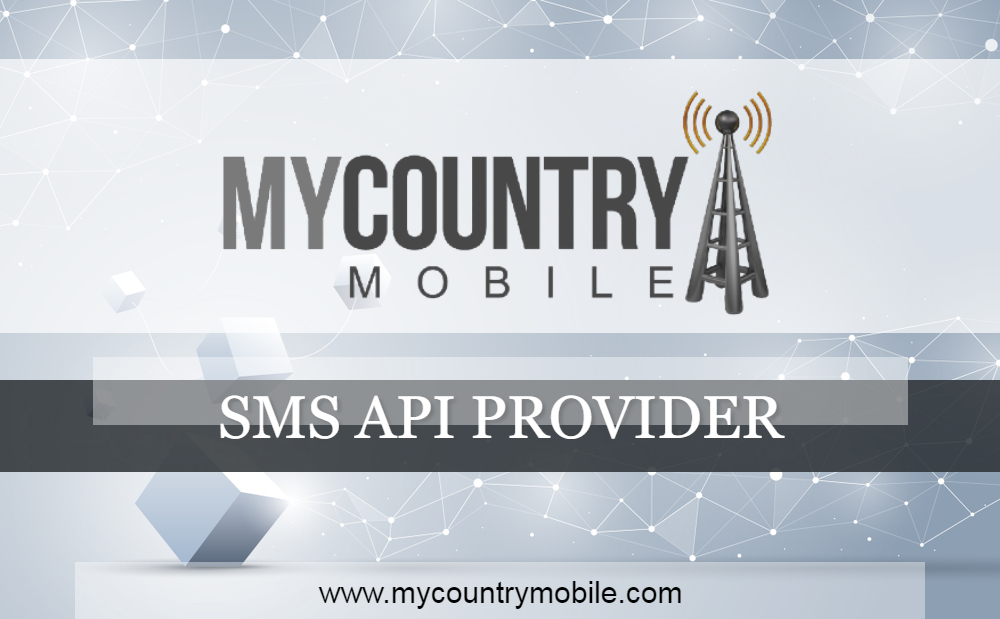 SMS API Provider - My Country Mobile