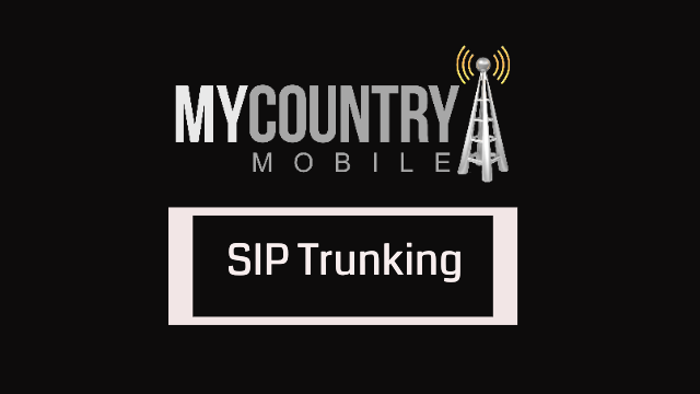 A large amount of sip trunking- my country mobile