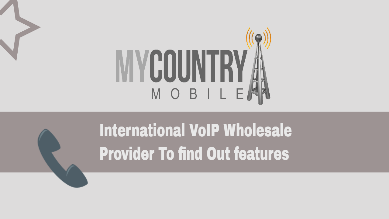 International VoIP Wholesale Provider To find Out features - My Country Mobile