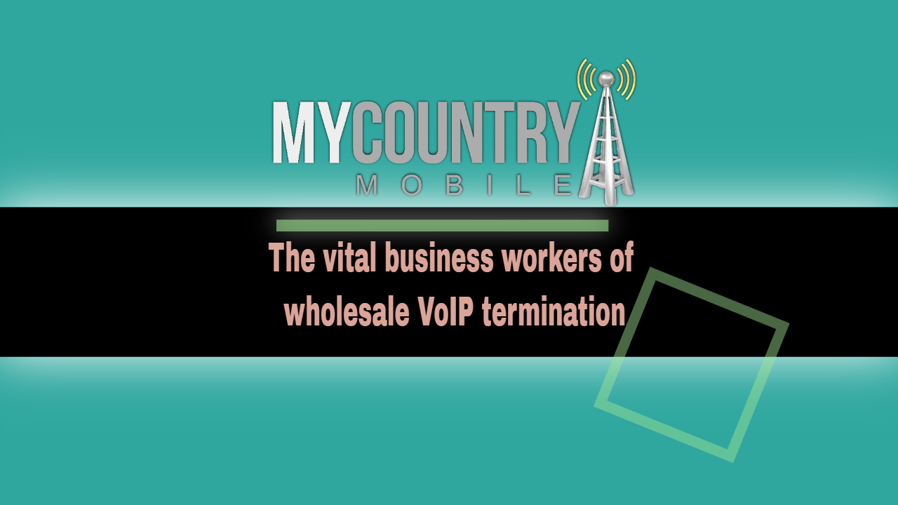 The vital business workers of wholesale VoIP termination - my country mobile