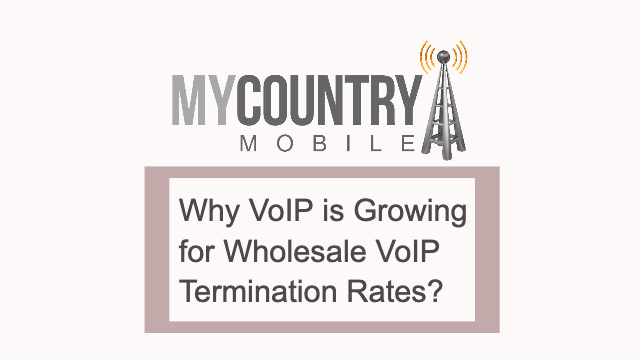 Why VoIP Is Growing for Wholesale VoIP Termination Rates? - My Country Moblie