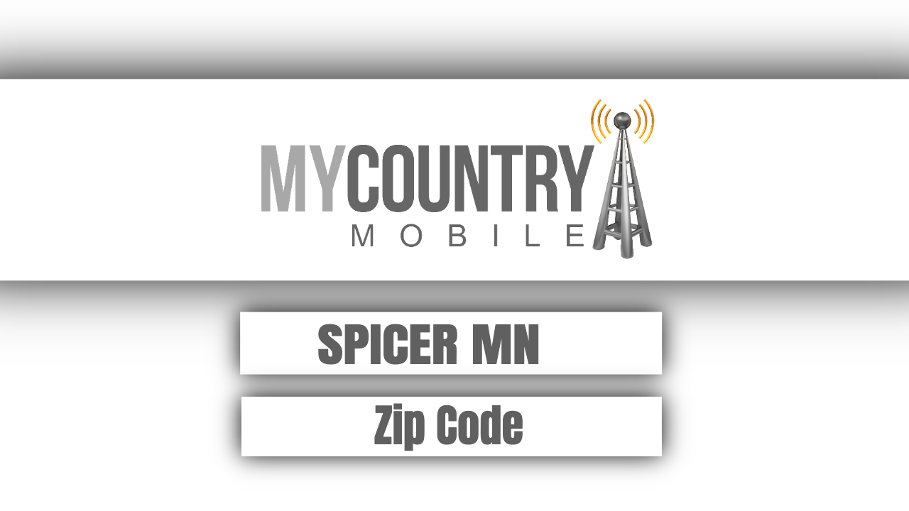 SPICER MN ZIP Code - My Country Mobile