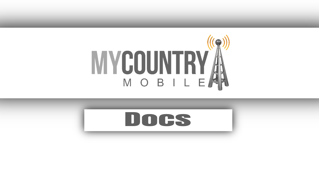 Docs - My Country Mobile