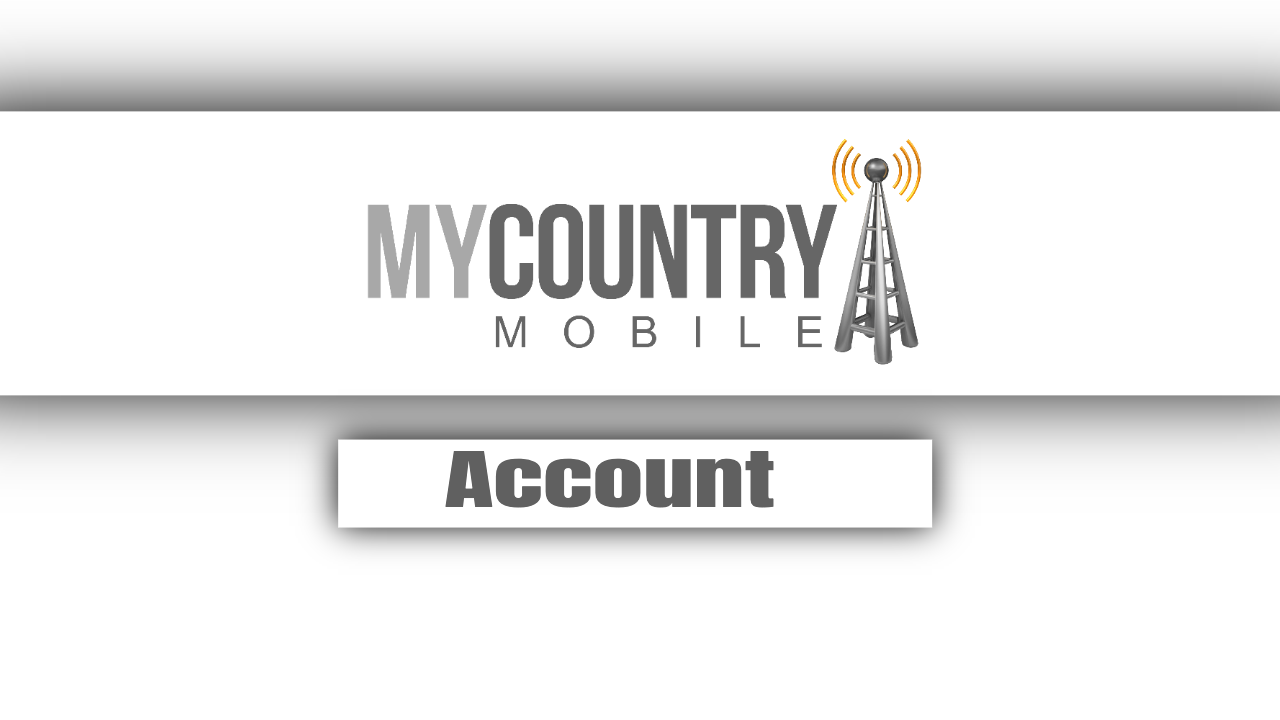 Account - My Country Mobile