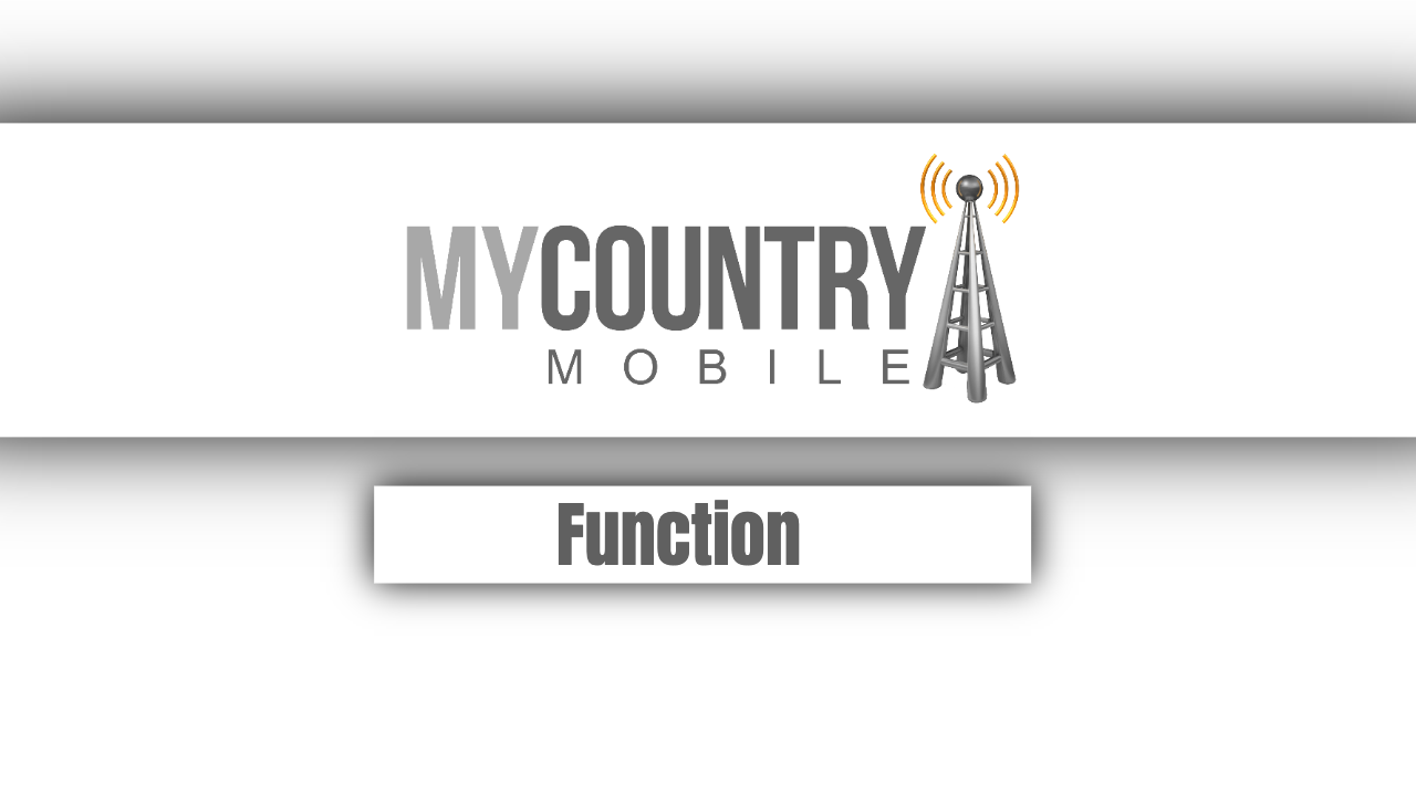Function - My Country Mobile