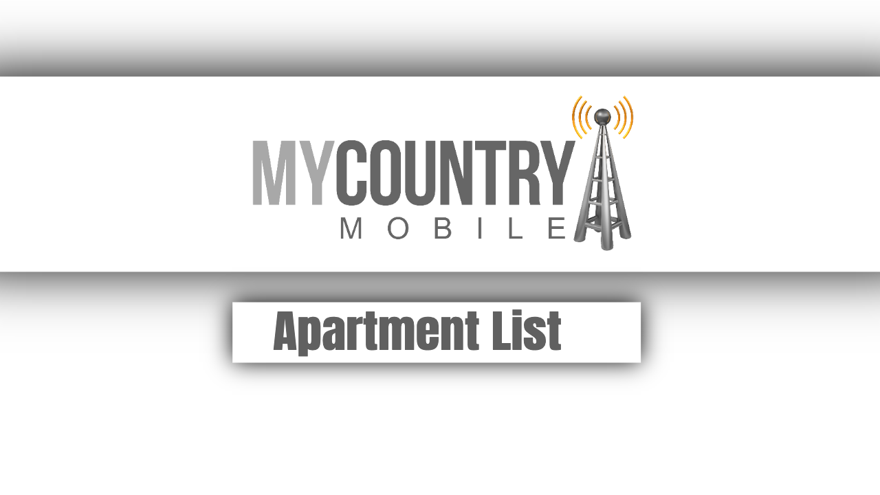 Apartment List - My Country Mobile