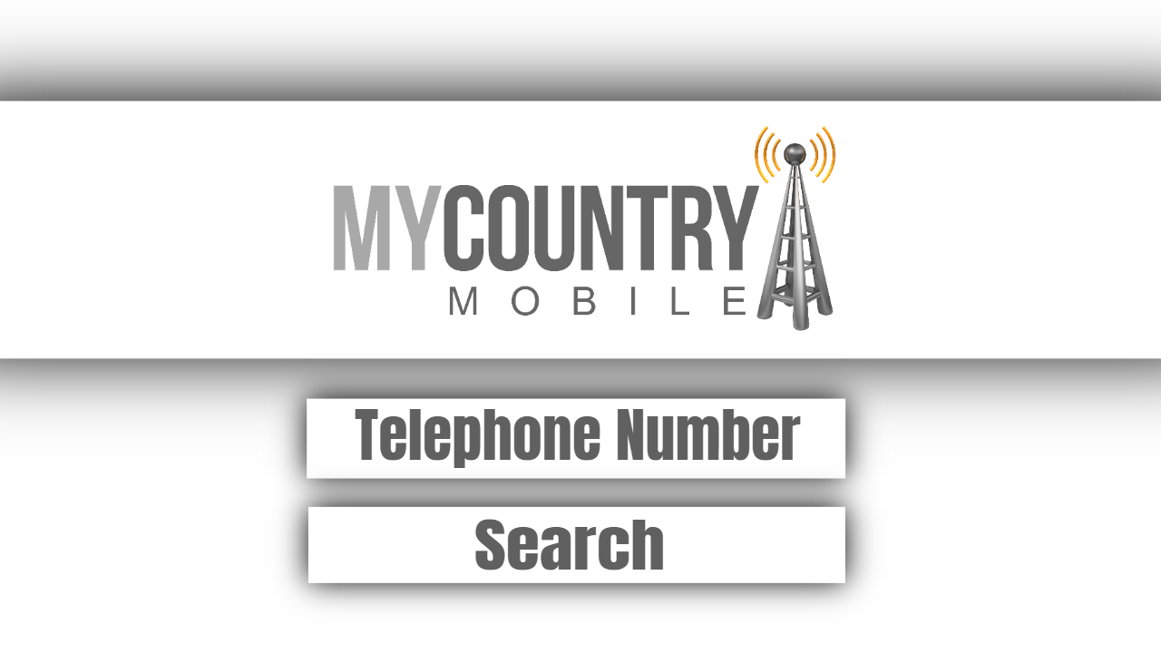Telephone Number Search - My Country Mobile