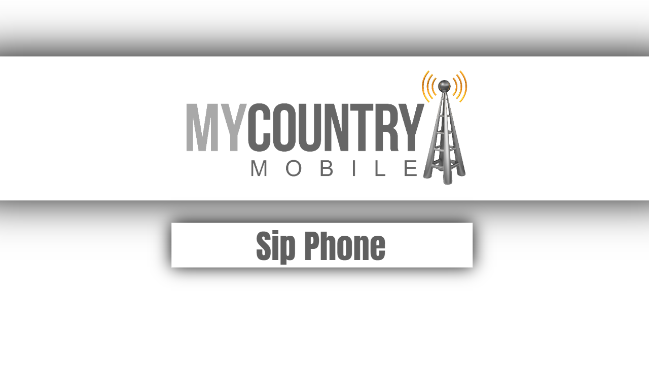 SIP Phone - My Country Mobile