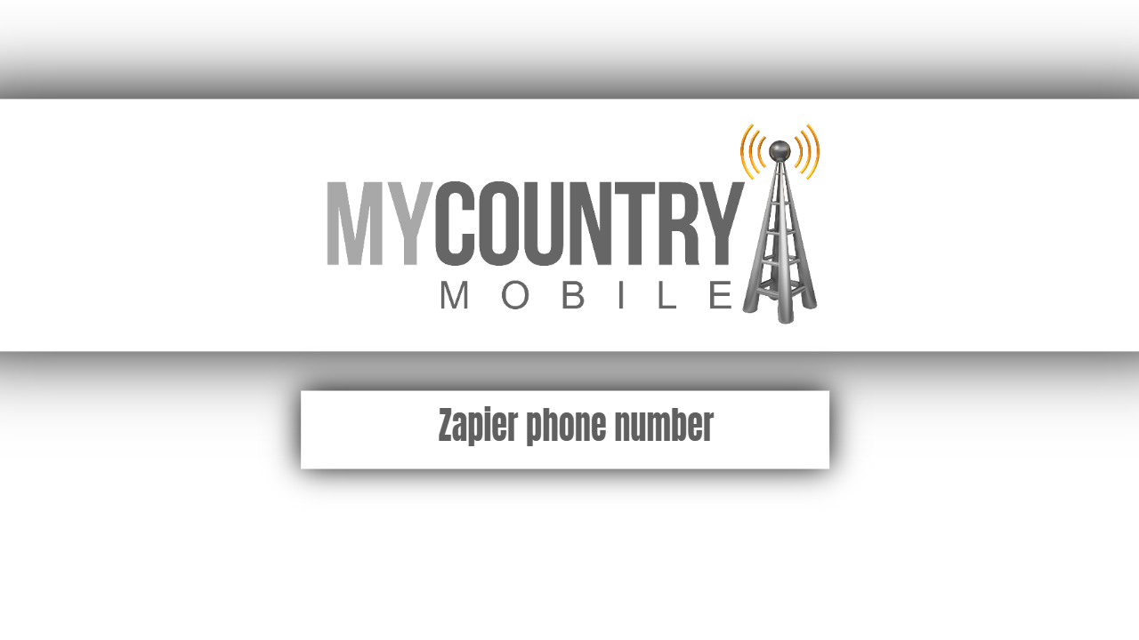 Zapier phone number-my country mobile