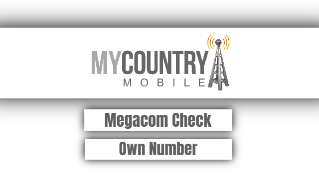 Megacom Check Own Number-my country mobile