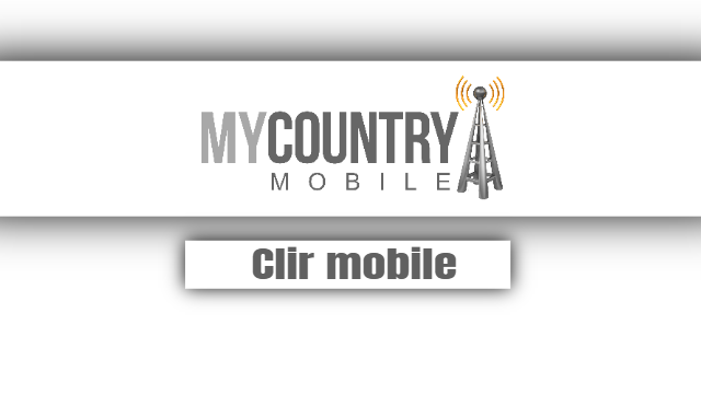 Clir mobile - My Country Mobile
