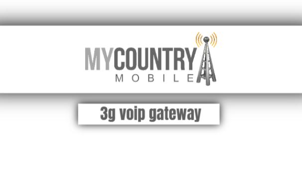 3g voip gateway