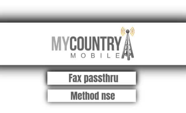 fax passthrough method nse
