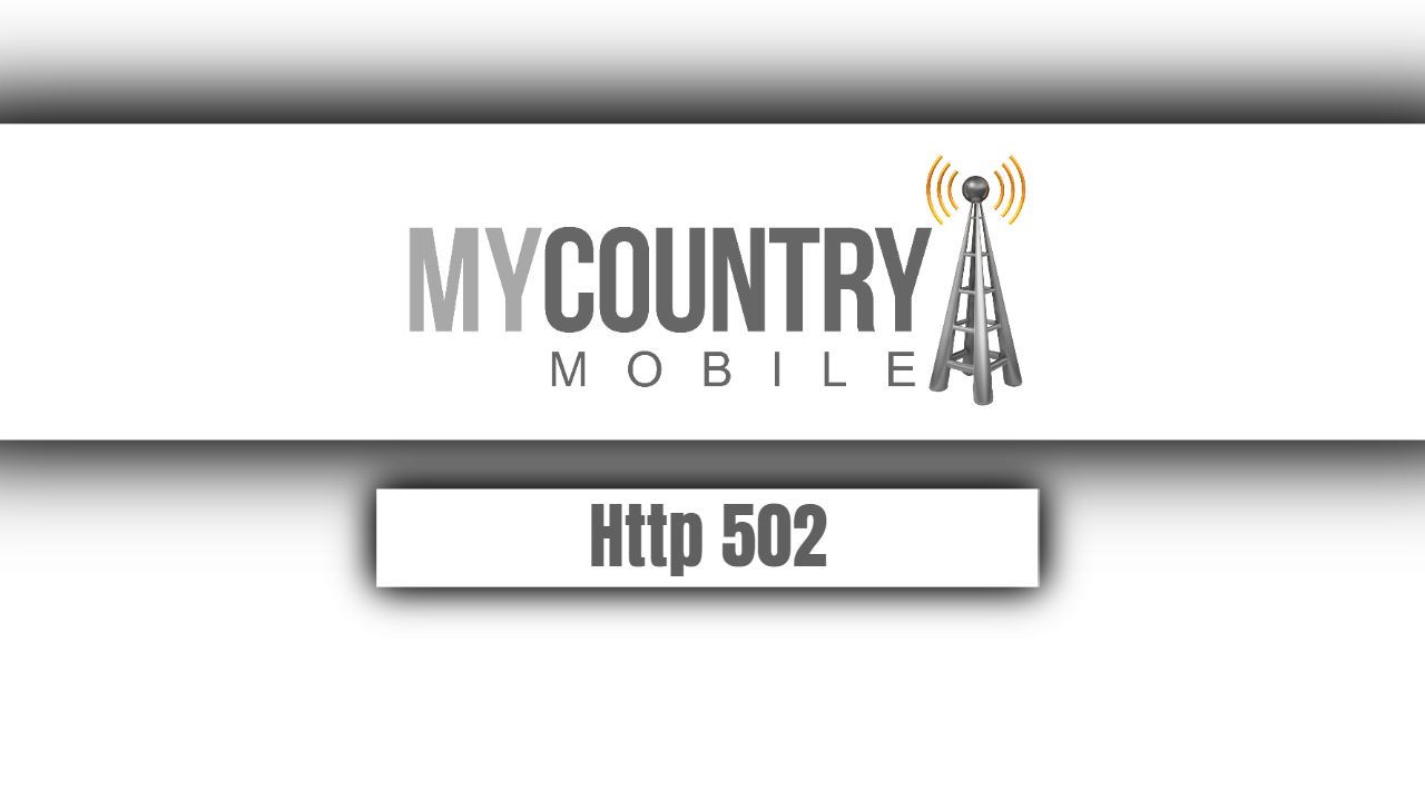 Http 502 - My Country Mobile