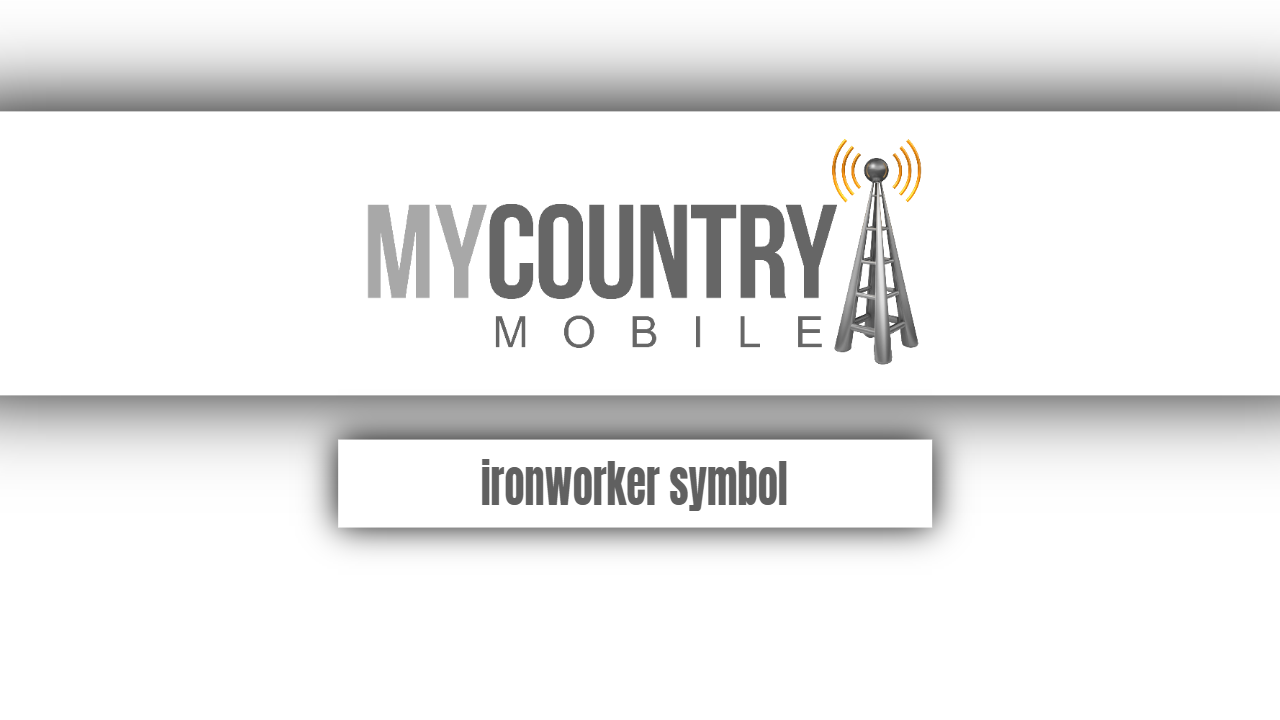 Ironworker symbol-my country mobile
