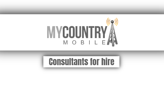 Consultants for hire - My Country Mobile